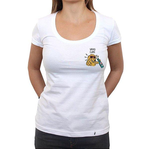 Vamo Curti - Camiseta Clássica Feminina