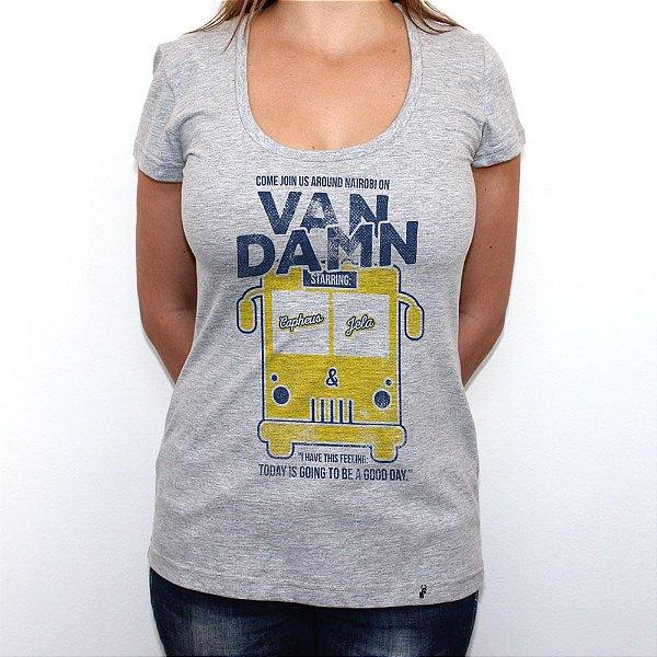 Van Damn - Camiseta Clássica Feminina