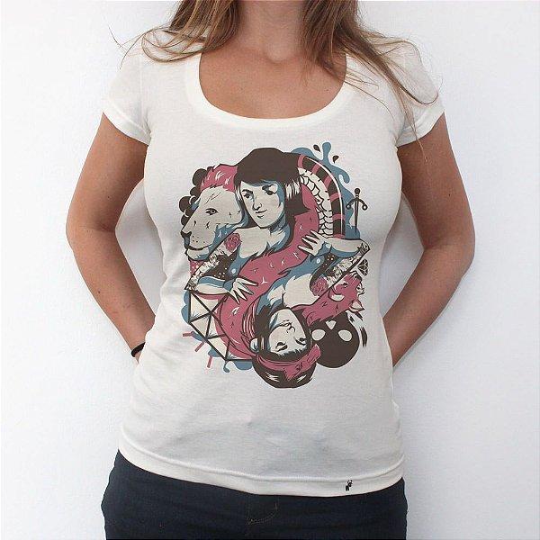 Vícios e Virtudes - Camiseta Clássica Feminina