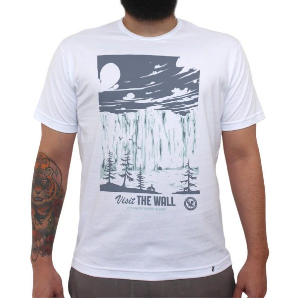 Visit The Wall - Camiseta Clássica Masculina