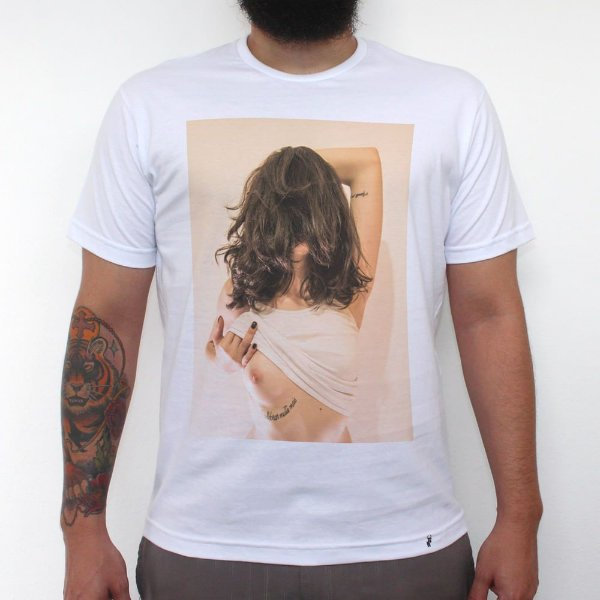 Visita Secreta - Camiseta Clássica Masculina