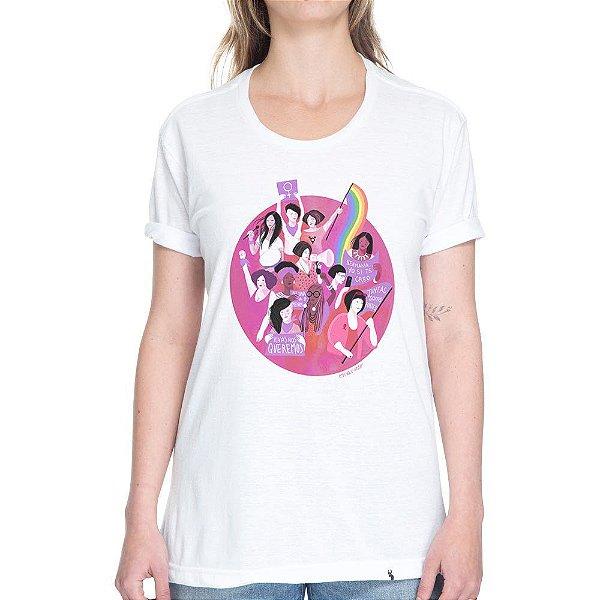 Vivas Nos Queremos - Camiseta Basicona Unissex