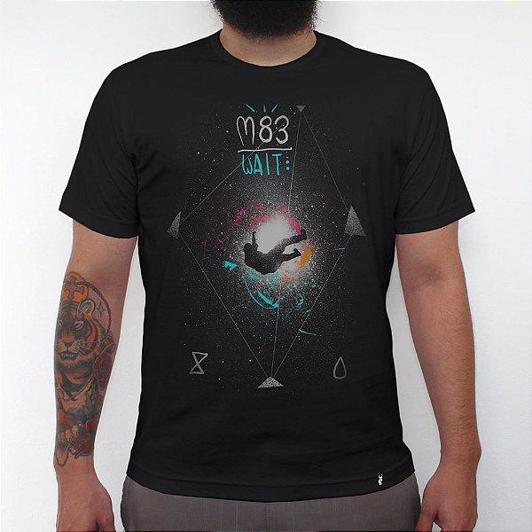 Wait - Camiseta Clássica Masculina