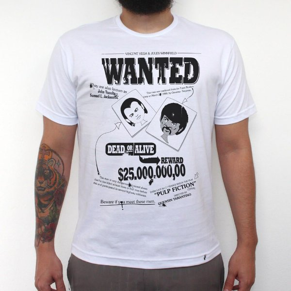 Wanted - Camiseta Clássica Masculina