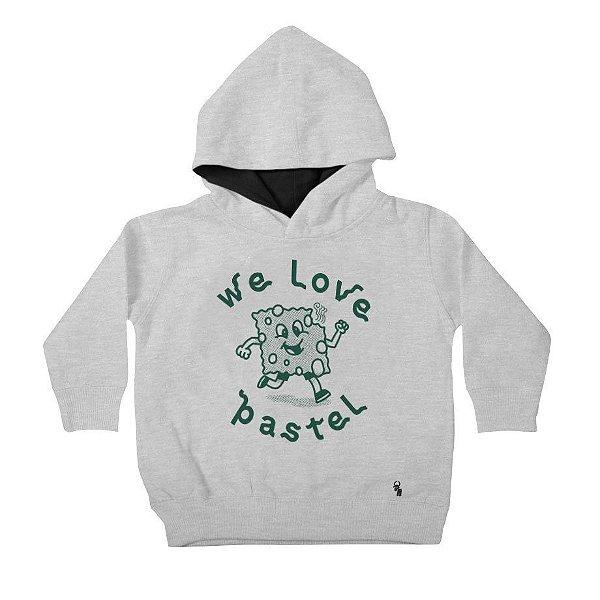 We Love Pastel - Moleton com Capuz Infantil