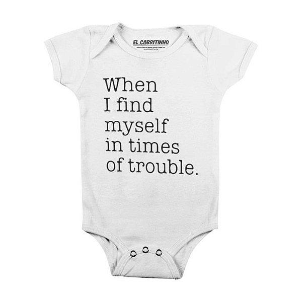 When I Find My Self - Body Infantil