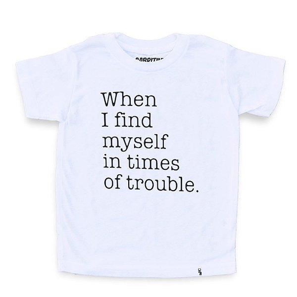 When I Find My Self - Camiseta Clássica Infantil