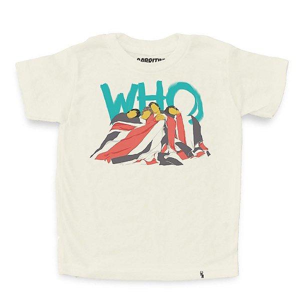 Who - Camiseta Clássica Infantil