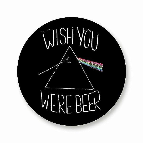 Wish Your Were Beer - Adesivo de Vinil