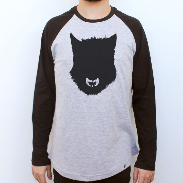 WOLFFF - Camiseta Raglan Manga Longa Masculina