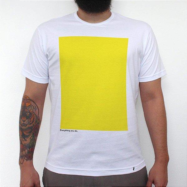 Yellow - Camiseta Clássica Masculina