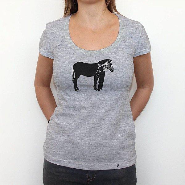 Zebra - Camiseta Clássica Feminina