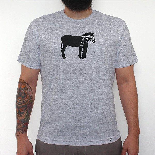 Zebra - Camiseta Clássica Masculina