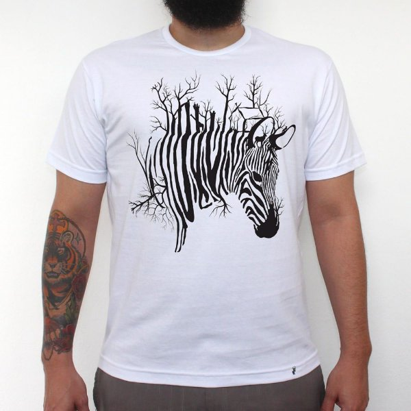 Zebrarvore - Camiseta Clássica Masculina