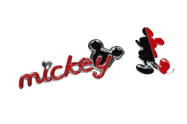 ADESIVO 3D MICKEY VERMELHO E PRETO