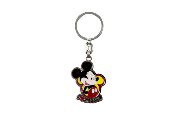 CHAVEIRO METAL I LOVE MICKEY