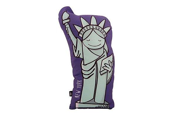 ALMOFADA EU AMO VIAJAR NOVA YORK