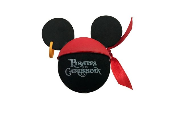 ENFEITE PARA ANTENA DE CARRO MICKEY PIRATAS DO CARIBE - DISNEY