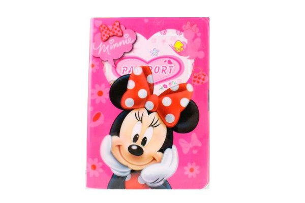PORTA DOCUMENTOS OU PASSAPORTE MINNIE