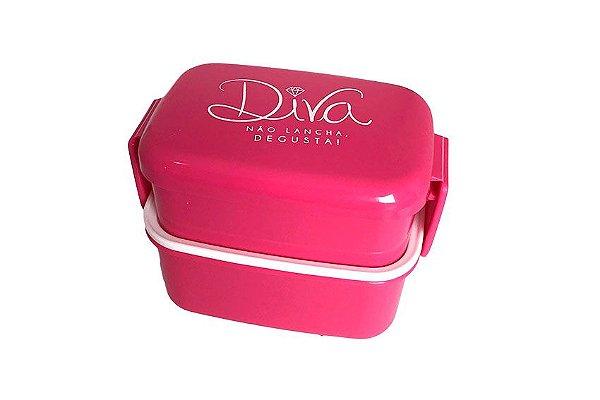 Mini Marmita 470 ML Diva Rosa