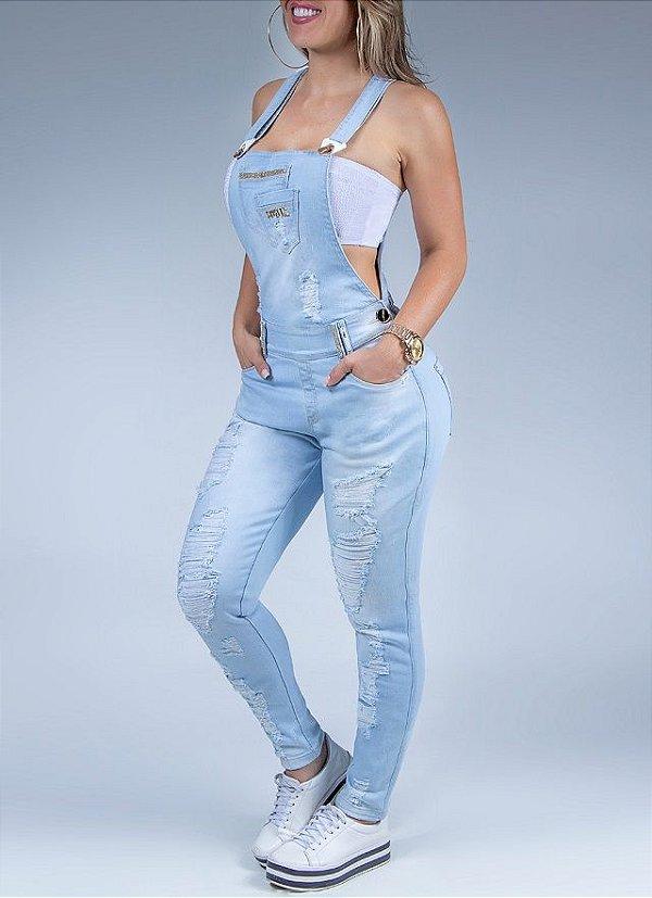 Jardineira Pit Bull Jeans Ref. 30818