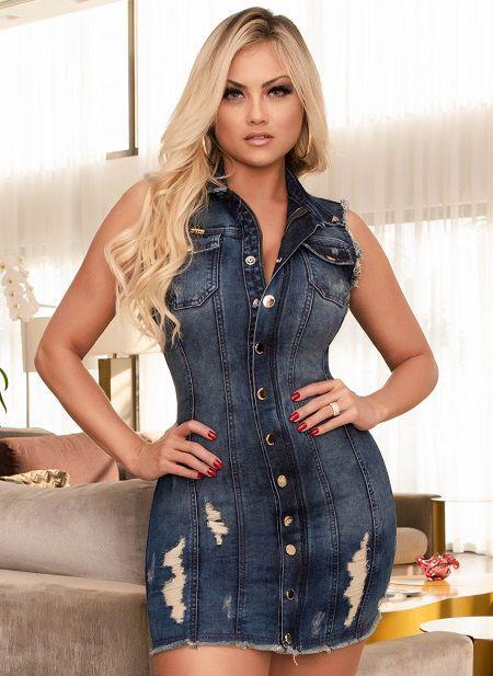 Vestido Colete Pit Bull Jeans Ref. 32881