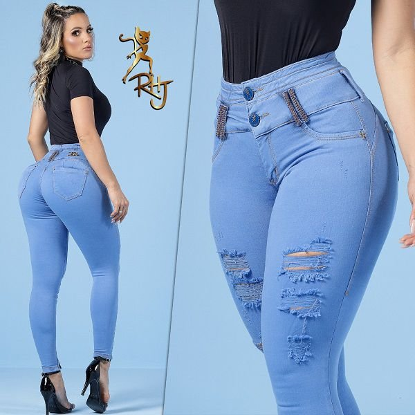 Calça Rhero Jeans C/Bojo ref. 56215