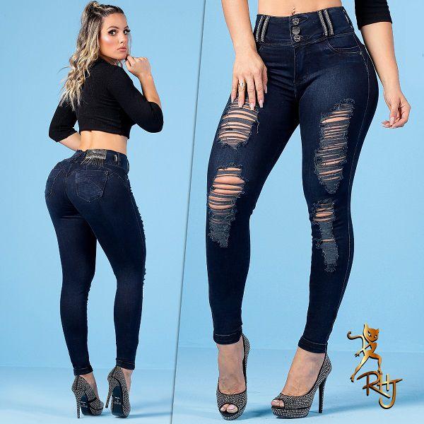 Calça Rhero Jeans C/Bojo Ref 56257