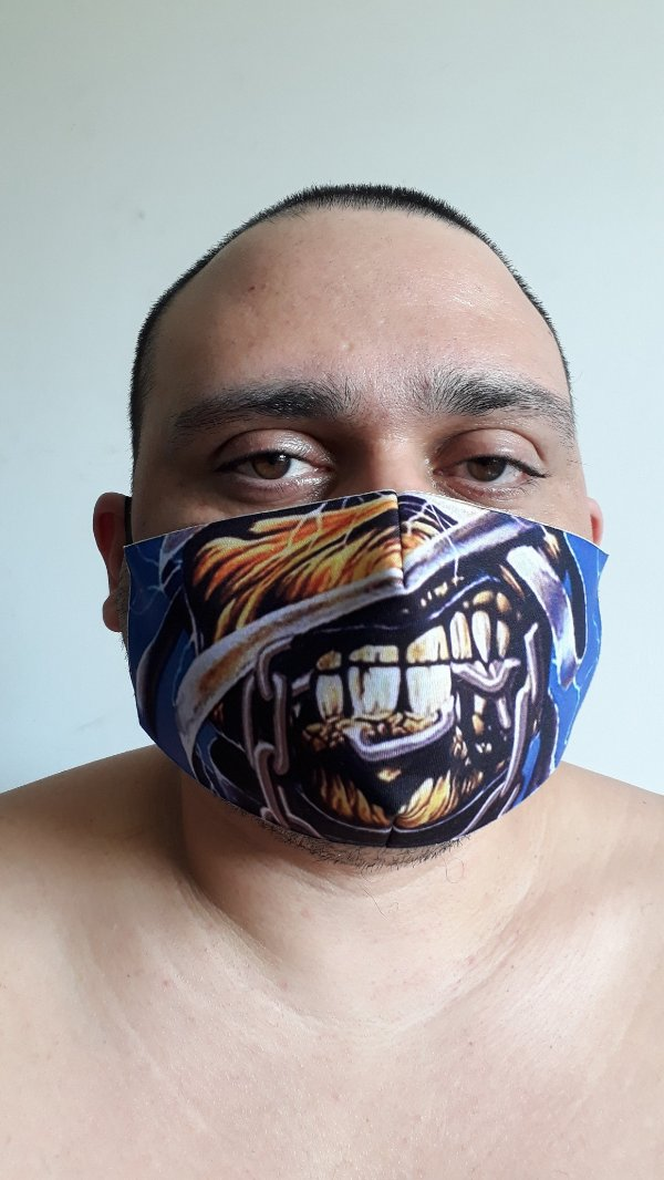 Máscara Eddie Mummy