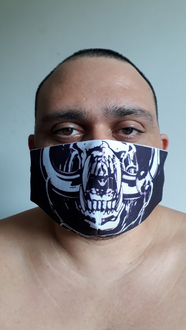 Máscara MotorHead Mascote