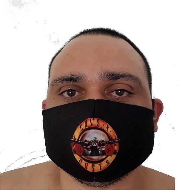 Máscara Guns N´Roses logo