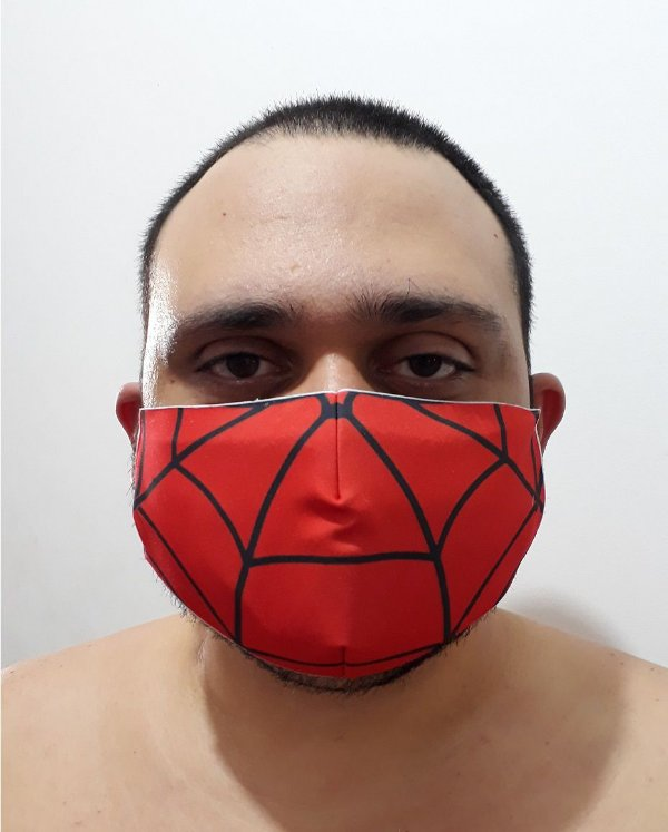Máscara Spider-Man face