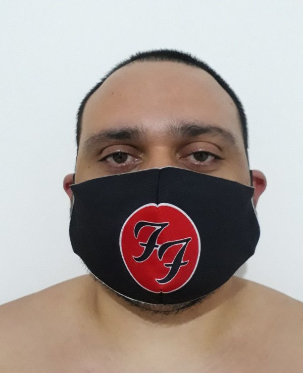 Máscara Foo Fighters Logo