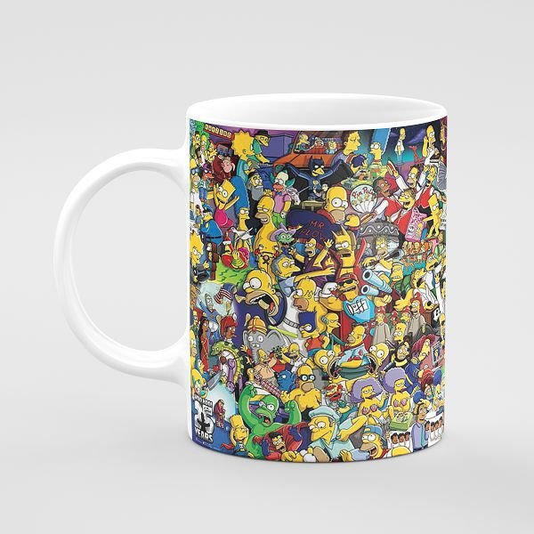 Simpsons - All in One Mug
