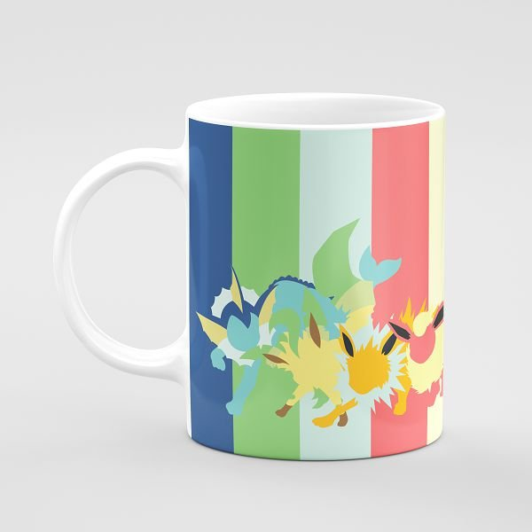 Pokemon EeveEvolution Mug