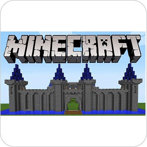 Painel de Festa Infantil Minecraft - Fortaleza