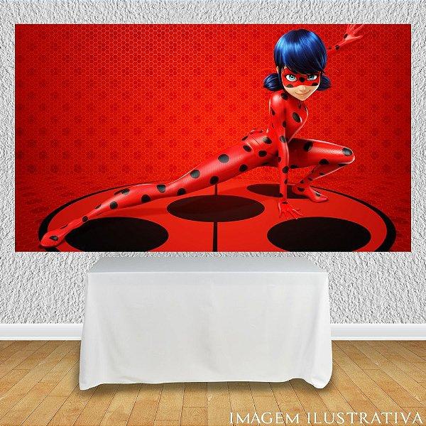 Painel de Festa Infantil Miraculous Ladybug Marinette