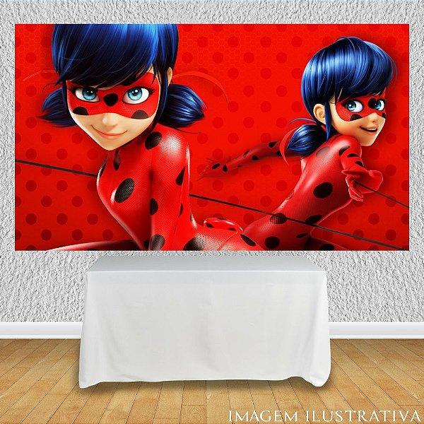 Painel de Festa Infantil Miraculous Ladybug Marinette II