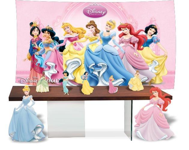Kit Festa Princesas Disney Todos Personagens