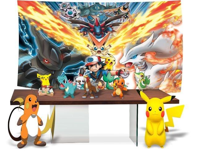 Kit Festa Pronta Pokemon Go Decoração Completa