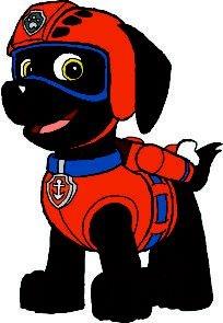 Artigos de mesa Zuma patrulha canina