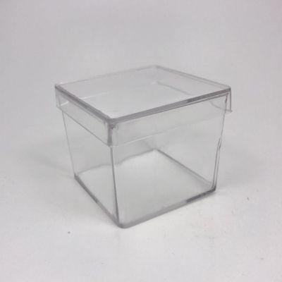 Caixa Acrílica Transparente 5x5x4,5cm - 30 Unidades