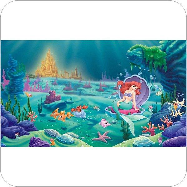 Painel Para Festa Infantil - A Pequena Sereia - Ariel e o Reino