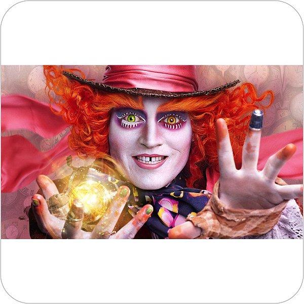 Painel de Festa Infantil Alice Através do Espelho - Chapeleiro