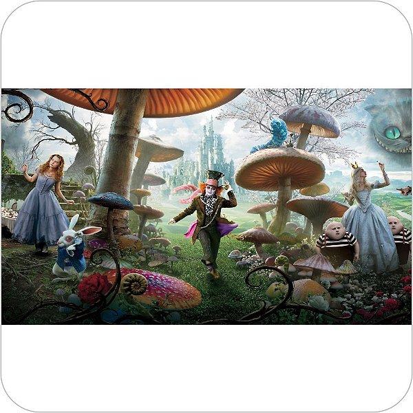 Painel de Festa Infantil Alice no País das Maravilhas - Zoom In