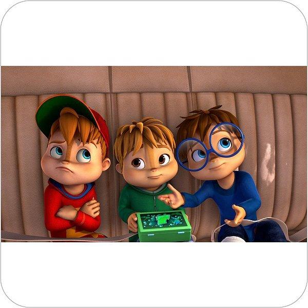 Painel de Festa Infantil Alvin e os Esquilos Nickelodeon - Trio