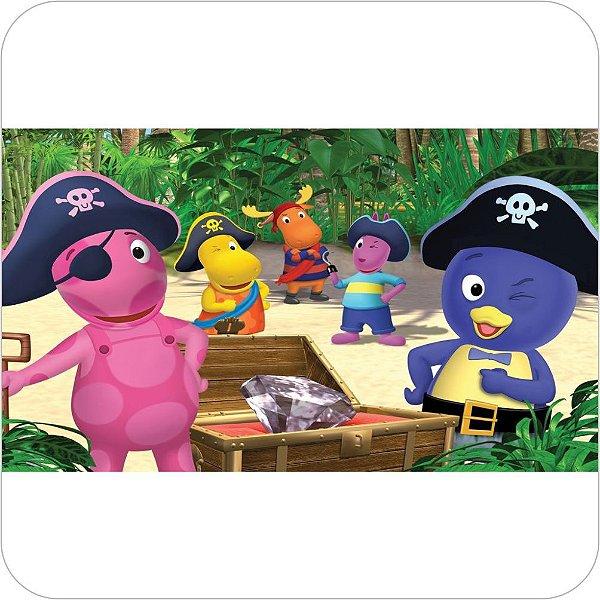 Painel de Festa Infantil Backyardigans - Piratas