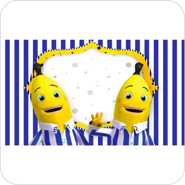 Painel de Festa Infantil Bananas de Pijamas - Listras