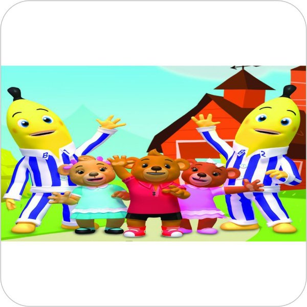 Painel de Festa Infantil Bananas de Pijamas III