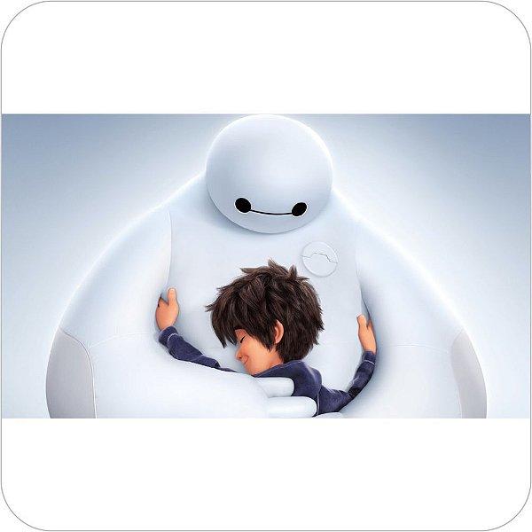 Painel de Festa Infantil Big Hero 6 - Baymax e Hiro